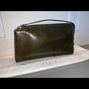 Authentic Christian Dior mini trotter pochette bag